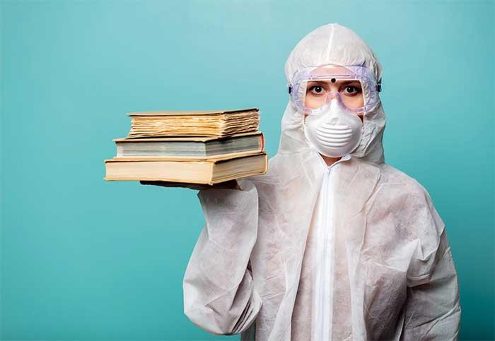 85 درصد فرانسویها در روزهای قرنطینه کتاب میخرند
